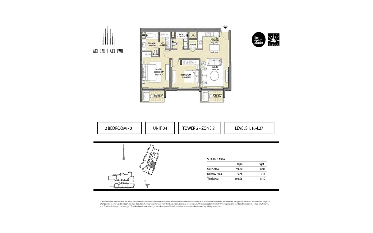 Act One Act Two Apartments In Downtown Dubai Fidu Properties