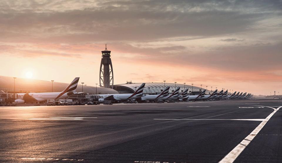 Passenger traffic at Dubai International Airport increasing 5% daily